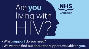 Are you living with HIV survey image